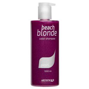 Artistique Beach Blonde Pearl Shampoo 1000ml, szampon do włosów blond nadający perłowy odcień