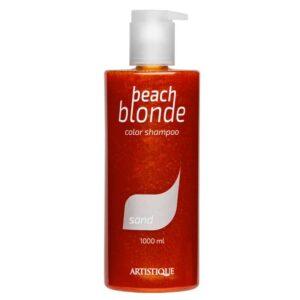 Artistique Beach Blonde Sand Shampoo 1000ml, szampon do włosów blond nadajacy beżowy odcień