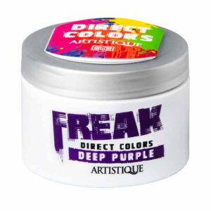 Artistique Freak Direct Colors Deep Purple 135ml, bezpośrednia farba do włosów, głęboki purpurowy