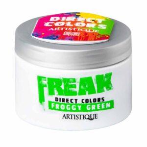 Artistique Freak Direct Colors Froggy Green 135ml, bezpośrednia farba do włosów, trawiasta zieleń
