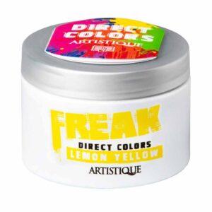 Artistique Freak Direct Colors Lemon Yellow 135ml, bezpośrednia farba do włosów, żółta cytryna