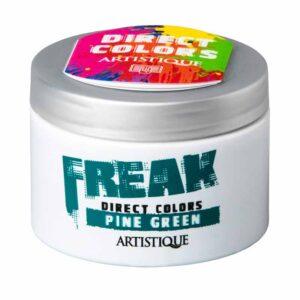 Artistique Freak Direct Colors Pine Green 135ml, bezpośrednia farba do włosów, zielona sosna