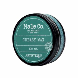 Artistique Male Co. Greasy Wax 100ml Wosk do włosów o średnim utrwaleniu