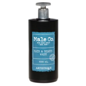 Artistique Male Co. Hair&Beard Wash 1000ml Szampon do włosów i brody
