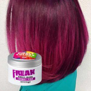 Freak Direct Colors Cherry Pink 135ml, bezpośrednia farba do włosów, soczysta wiśnia