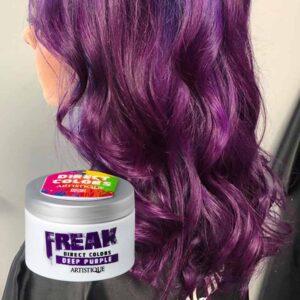 Freak Direct Colors Deep Purple 135ml, bezpośrednia farba do włosów, głęboka purpura