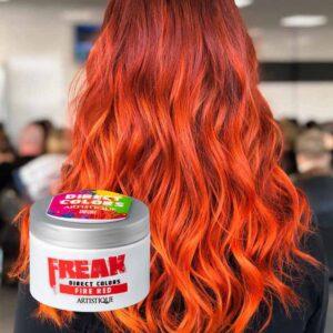 Freak Dierect Colors Fire Red 135ml, bezpośrednia farba do włosów, ognista czerwień