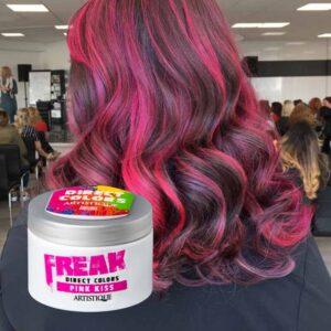 Freak Direct Colors Pink Kiss 135ml, bezpośrednia farba do włosów, fuksja