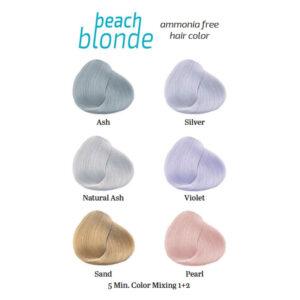 Artistique Beach Blonde - bezamoniakalna koloryzacja włosów w 5 minut