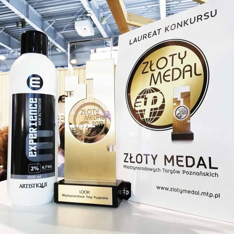 Artistique farby do włosów dla mężczyzn z medalem MTP look Poznań